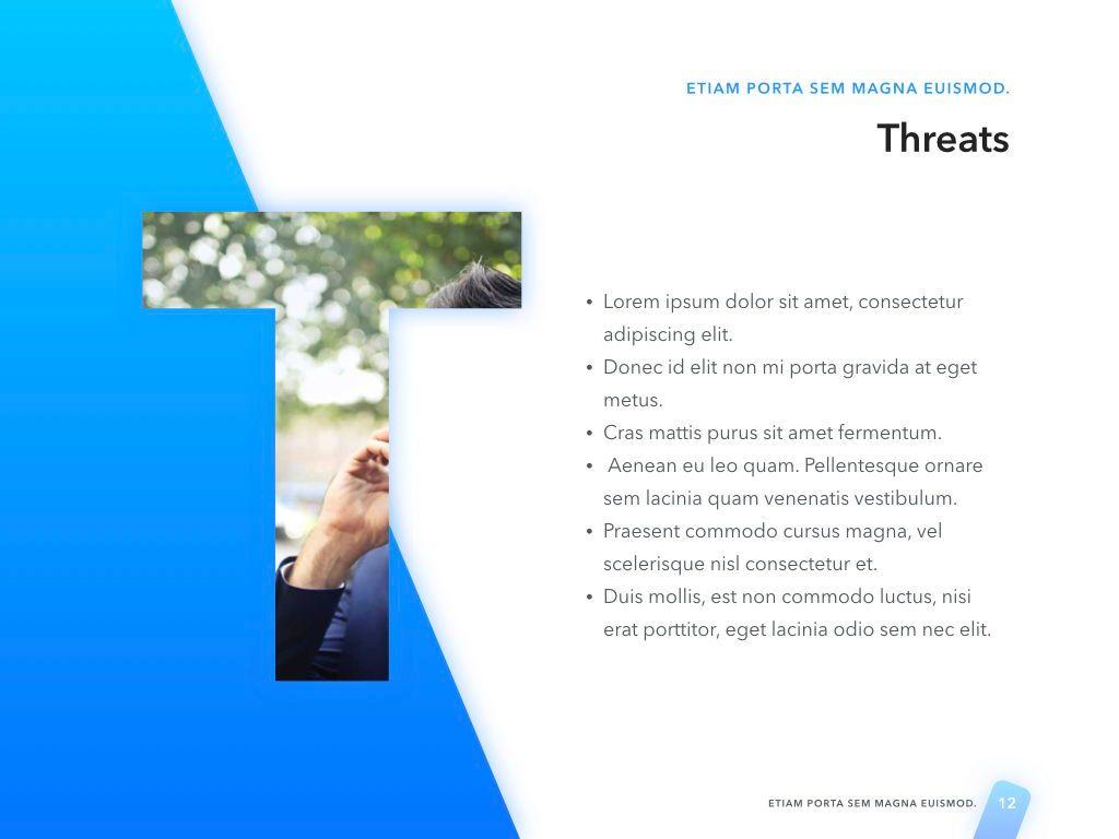 Lined Up PowerPoint Template, Slide 13, 05022, Presentation Templates — PoweredTemplate.com