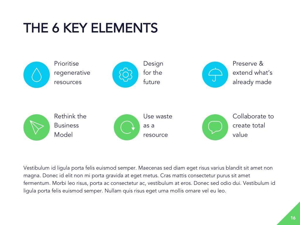 Circular Economy Google Slides Template, Slide 17, 05023, Presentation Templates — PoweredTemplate.com