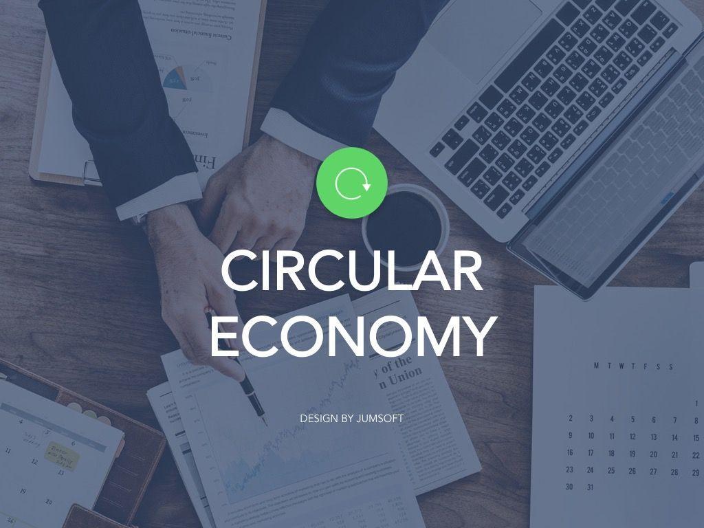 Circular Economy Google Slides Template, Slide 2, 05023, Presentation Templates — PoweredTemplate.com