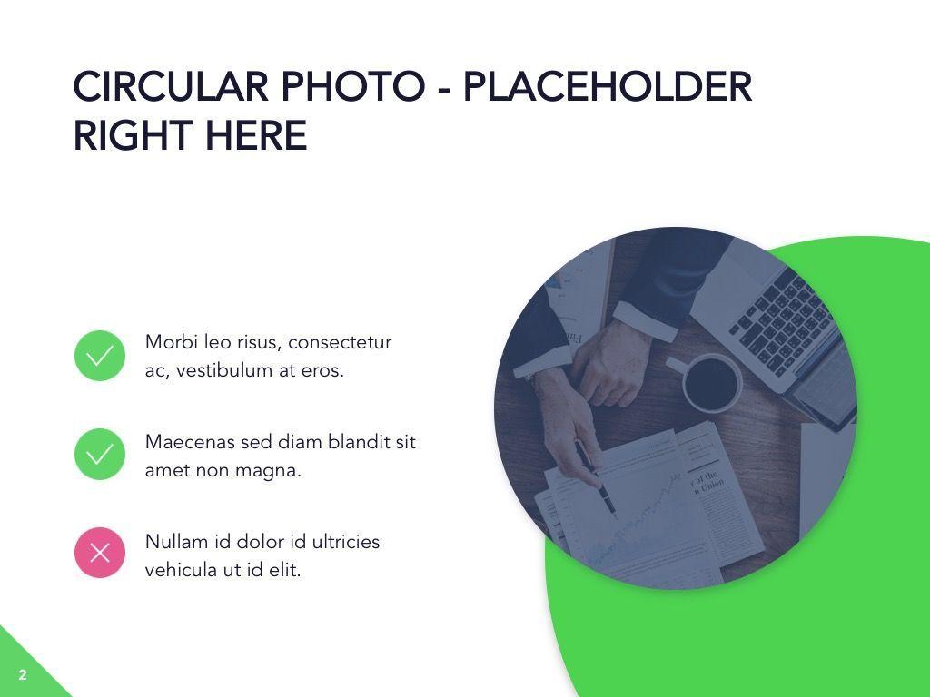 Circular Economy Google Slides Template, Slide 3, 05023, Presentation Templates — PoweredTemplate.com