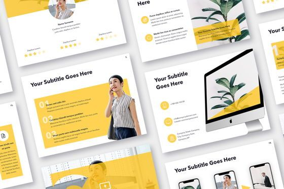 Presentation Templates: Light Solid PowerPoint Template #05025