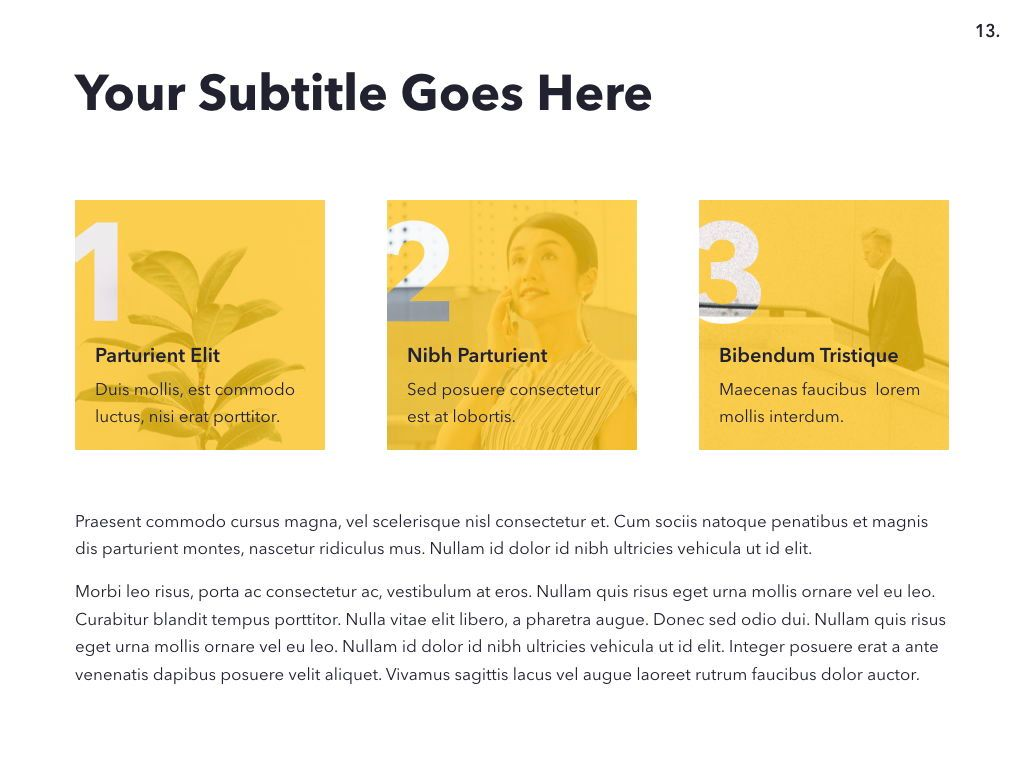 Light Solid PowerPoint Template, Slide 14, 05025, Presentation Templates — PoweredTemplate.com