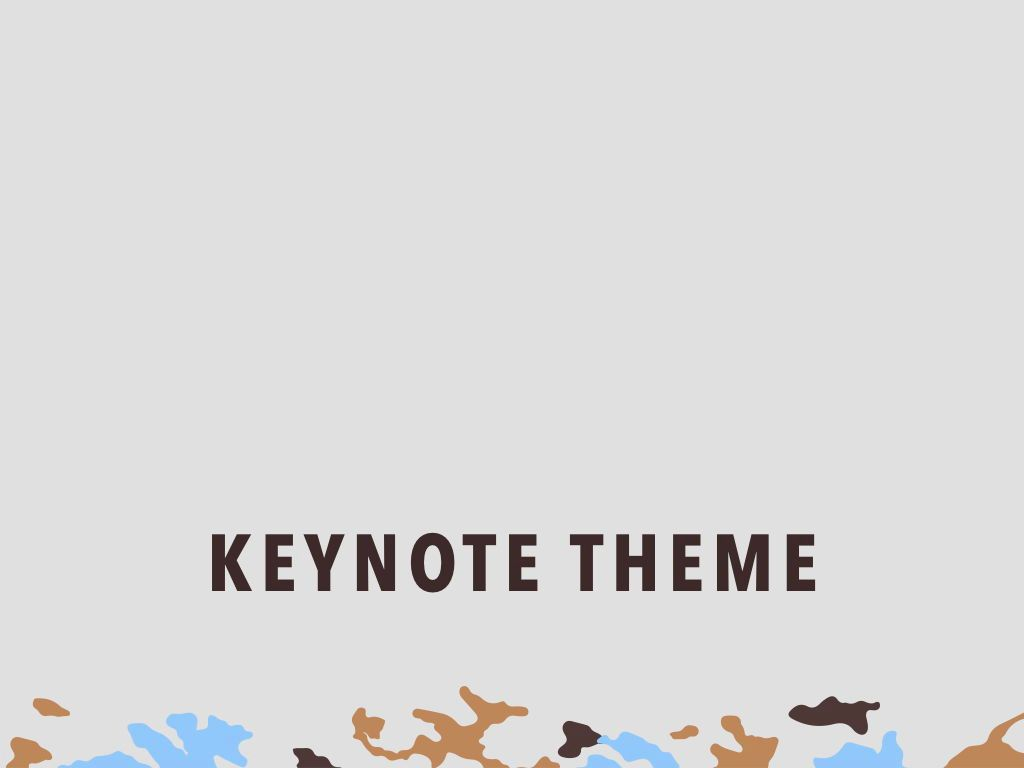 Camouflage Keynote Template, Slide 11, 05026, Presentation Templates — PoweredTemplate.com
