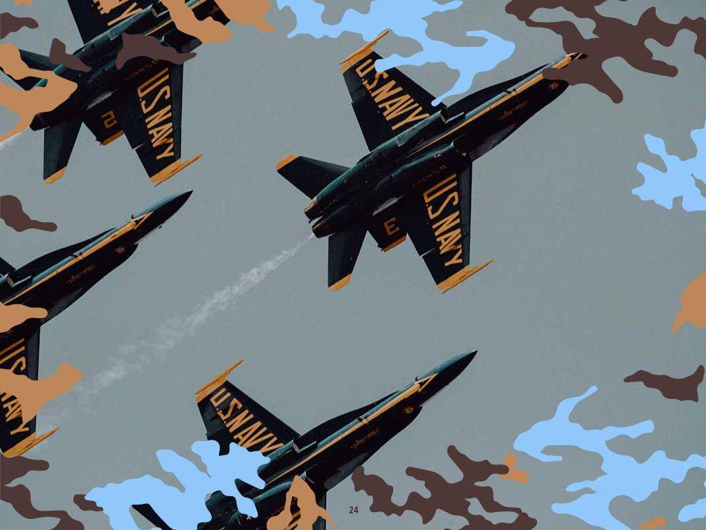 Camouflage Keynote Template, Slide 25, 05026, Presentation Templates — PoweredTemplate.com