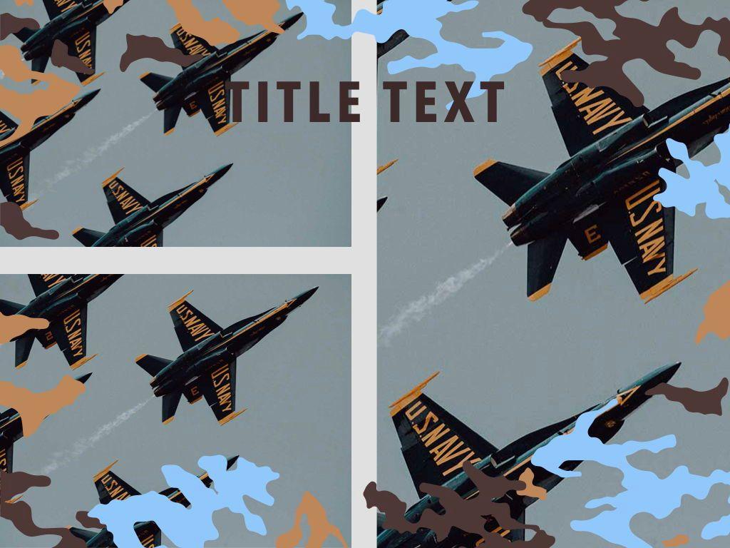 Camouflage Keynote Template, Slide 27, 05026, Presentation Templates — PoweredTemplate.com