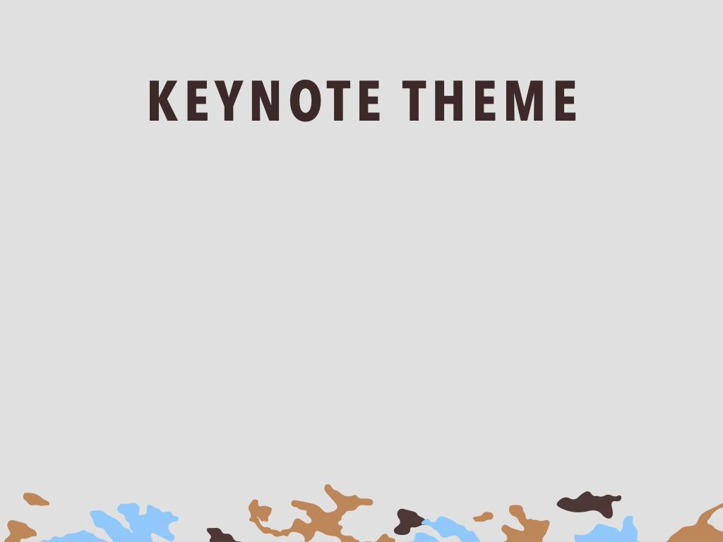 Camouflage Keynote Template, Slide 9, 05026, Presentation Templates — PoweredTemplate.com