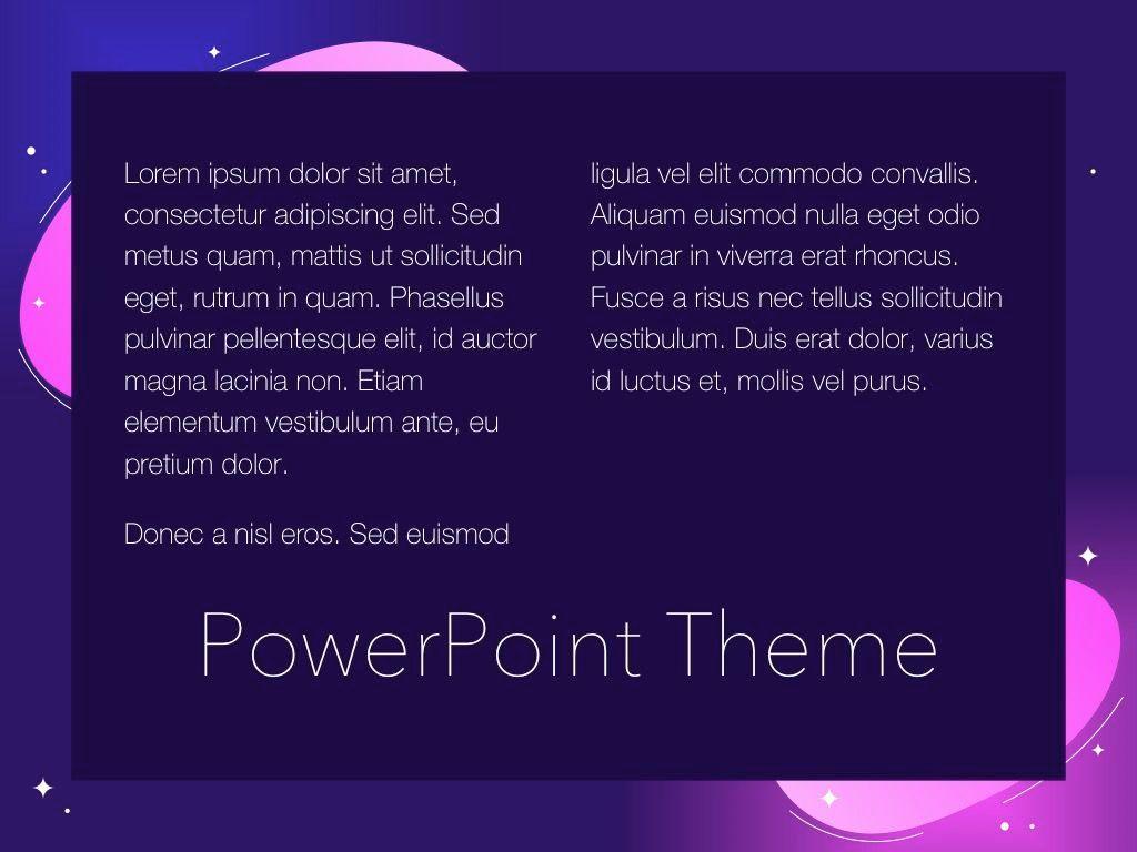 Skittish One PowerPoint Template, Slide 13, 05028, Presentation Templates — PoweredTemplate.com