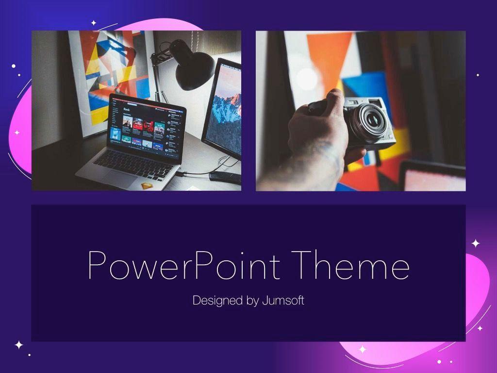 Skittish One PowerPoint Template, Slide 14, 05028, Presentation Templates — PoweredTemplate.com