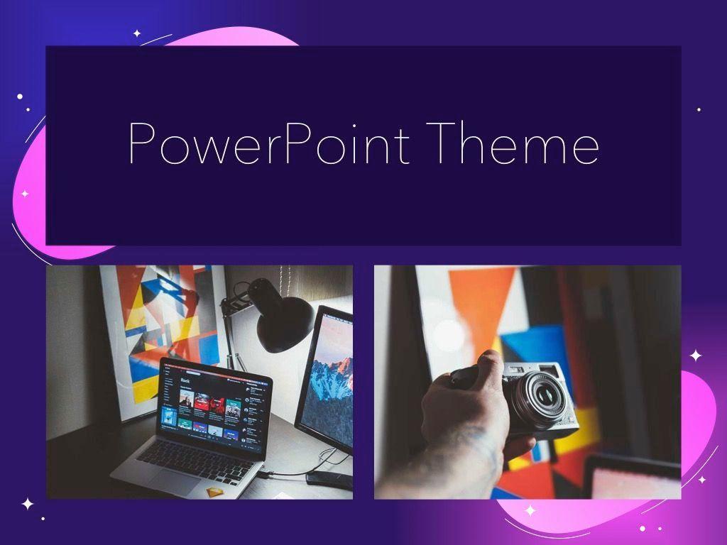 Skittish One PowerPoint Template, Slide 16, 05028, Presentation Templates — PoweredTemplate.com