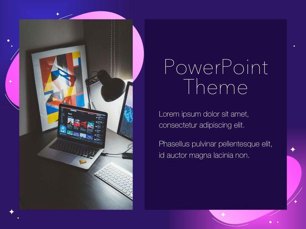 Skittish One PowerPoint Template, Slide 18, 05028, Presentation Templates — PoweredTemplate.com