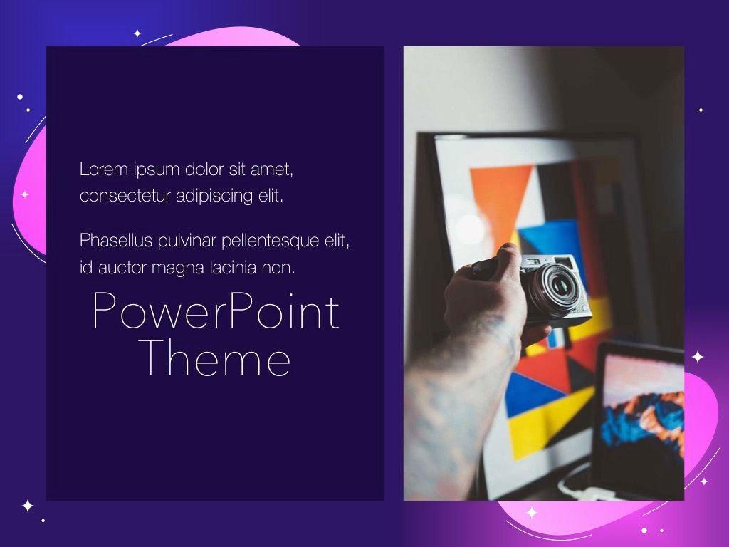 Skittish One PowerPoint Template, Slide 19, 05028, Presentation Templates — PoweredTemplate.com