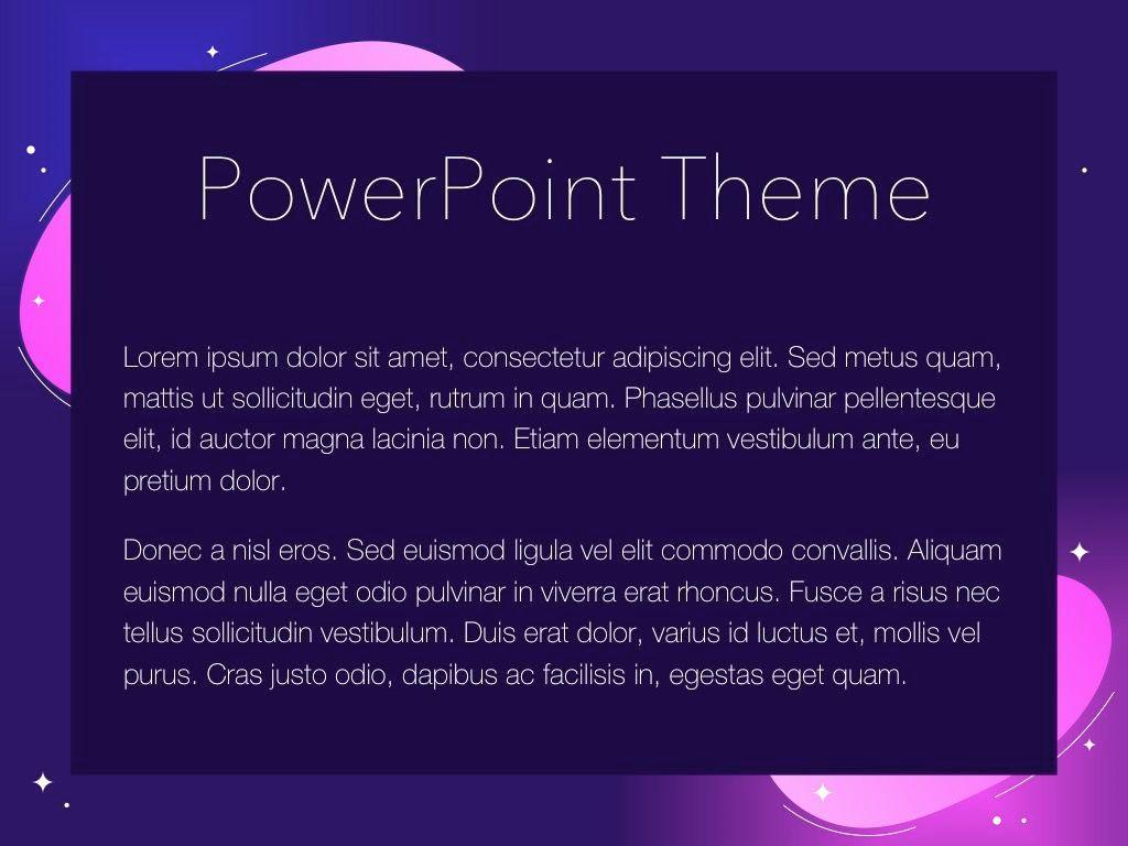 Skittish One PowerPoint Template, Slide 4, 05028, Presentation Templates — PoweredTemplate.com