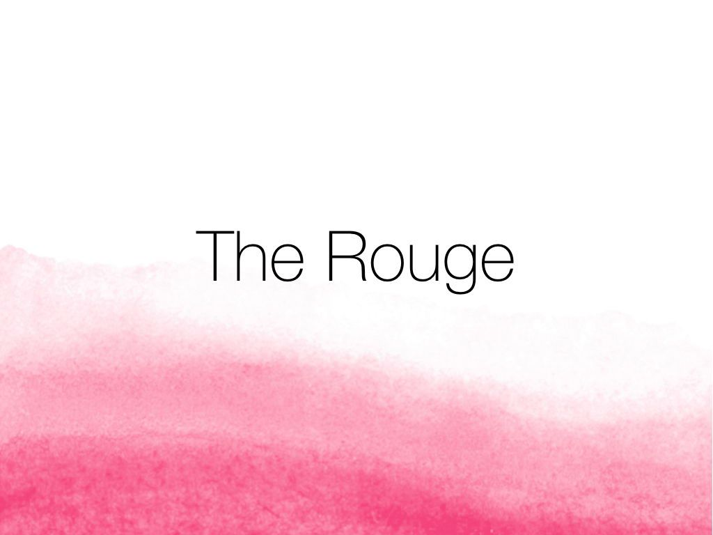 The Rouge Keynote Template, Slide 10, 05030, Presentation Templates — PoweredTemplate.com