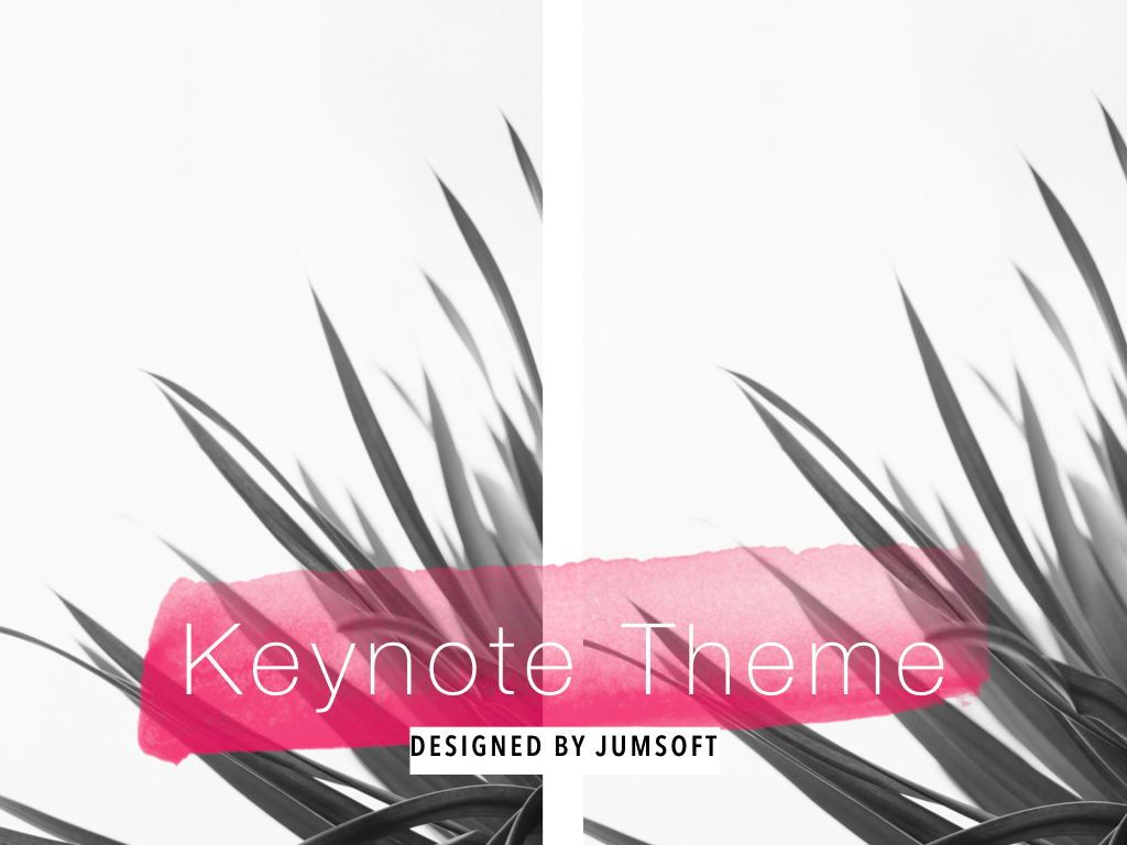 The Rouge Keynote Template, Slide 14, 05030, Presentation Templates — PoweredTemplate.com