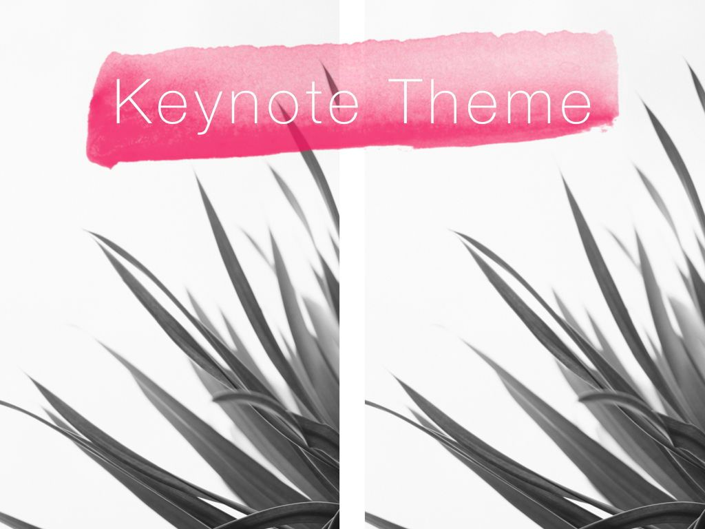 The Rouge Keynote Template, Slide 16, 05030, Presentation Templates — PoweredTemplate.com
