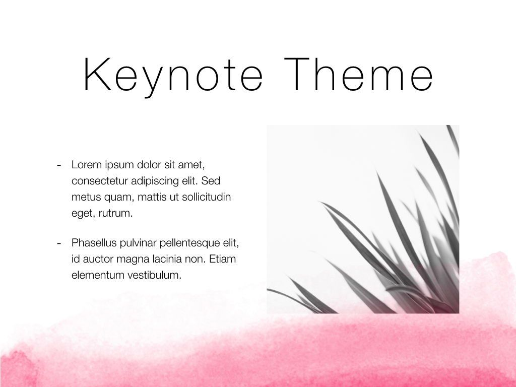 The Rouge Keynote Template, Slide 30, 05030, Presentation Templates — PoweredTemplate.com