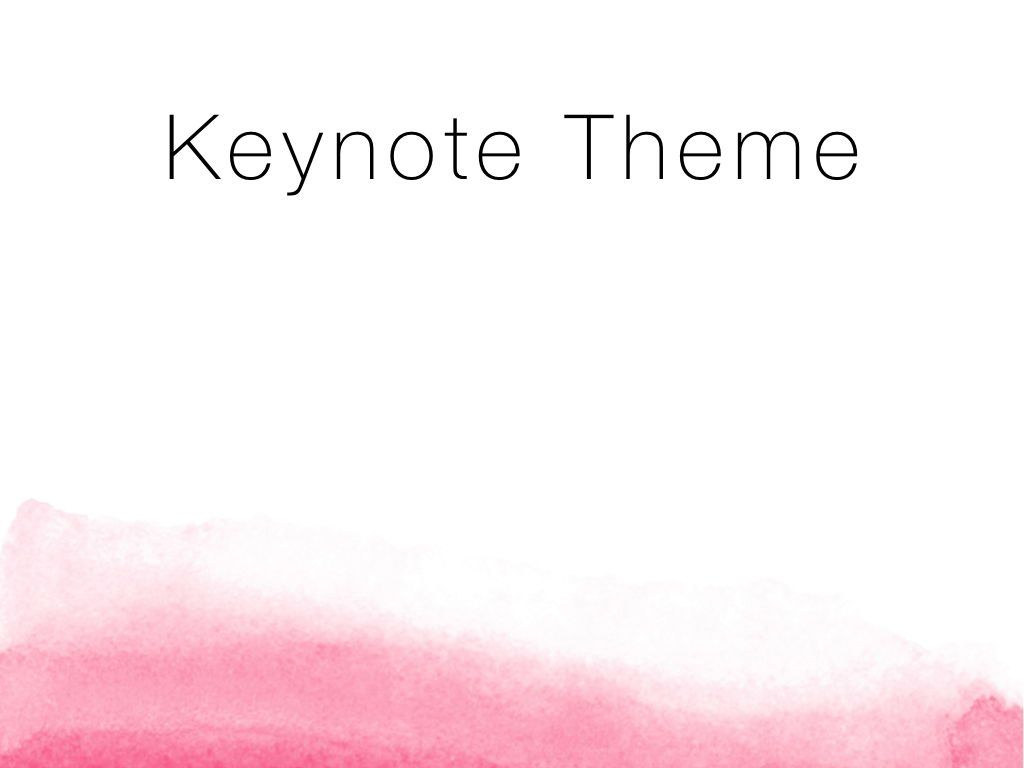 The Rouge Keynote Template, Slide 9, 05030, Presentation Templates — PoweredTemplate.com