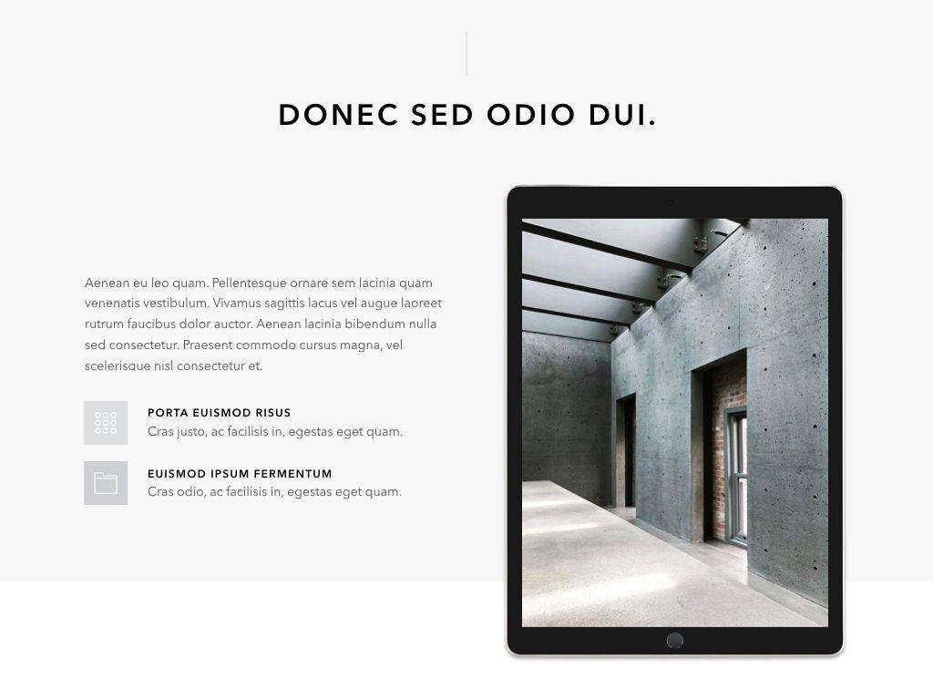 Concrete Keynote Template, Slide 13, 05032, Presentation Templates — PoweredTemplate.com