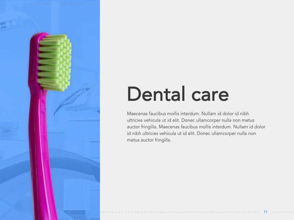 Dentistry Google Slides Template, Slide 12, 05034, Presentation Templates — PoweredTemplate.com