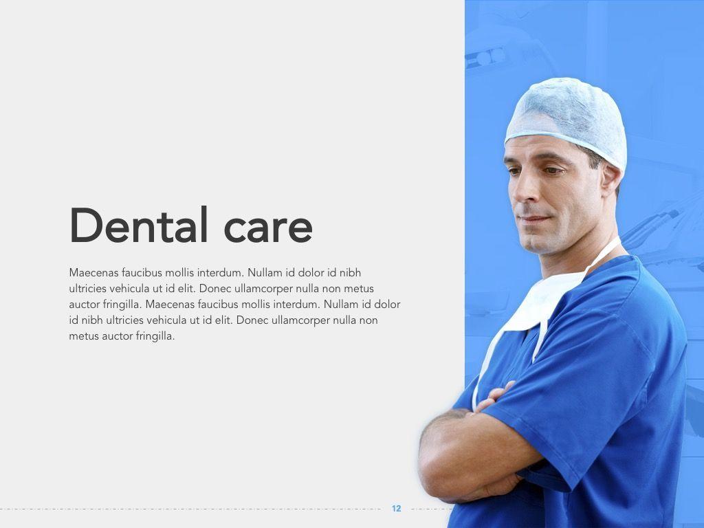Dentistry Google Slides Template, Slide 13, 05034, Presentation Templates — PoweredTemplate.com