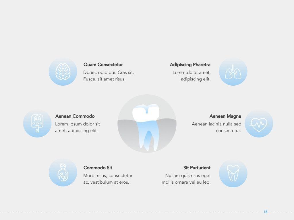 Dentistry Google Slides Template, Slide 16, 05034, Presentation Templates — PoweredTemplate.com