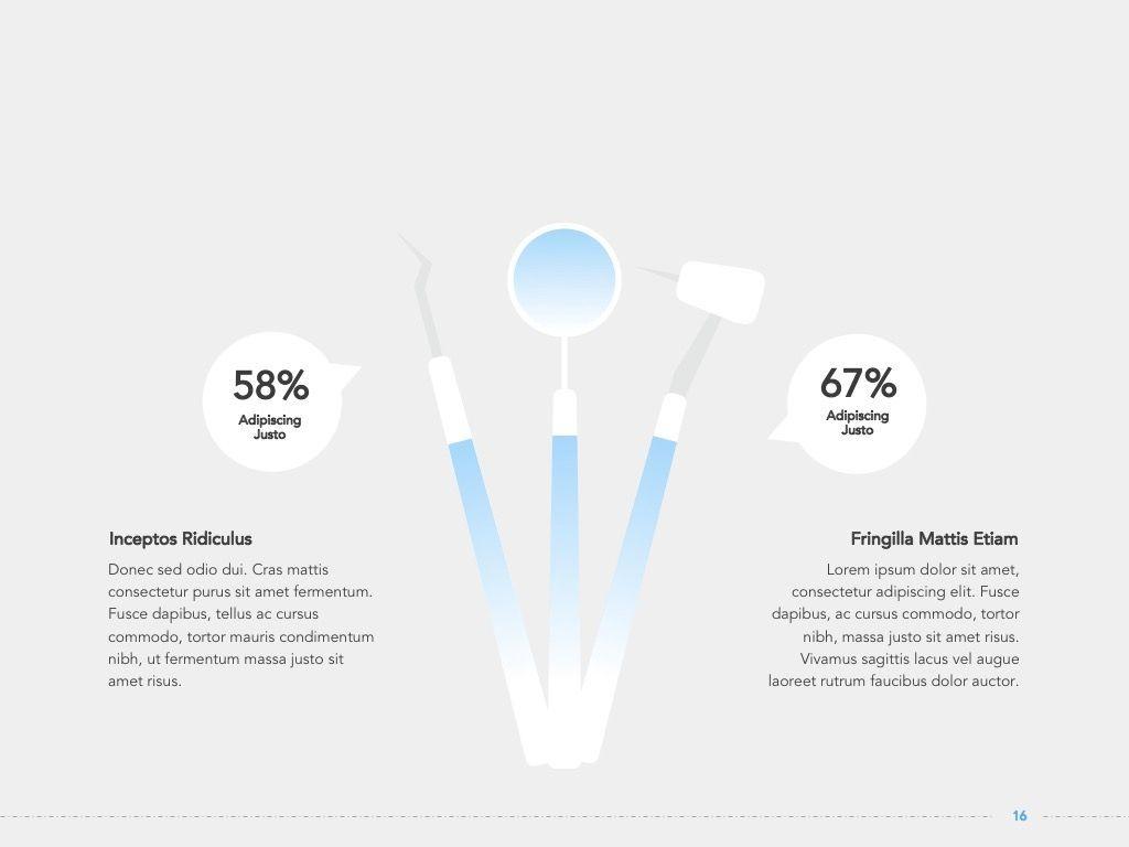Dentistry Google Slides Template, Slide 17, 05034, Presentation Templates — PoweredTemplate.com