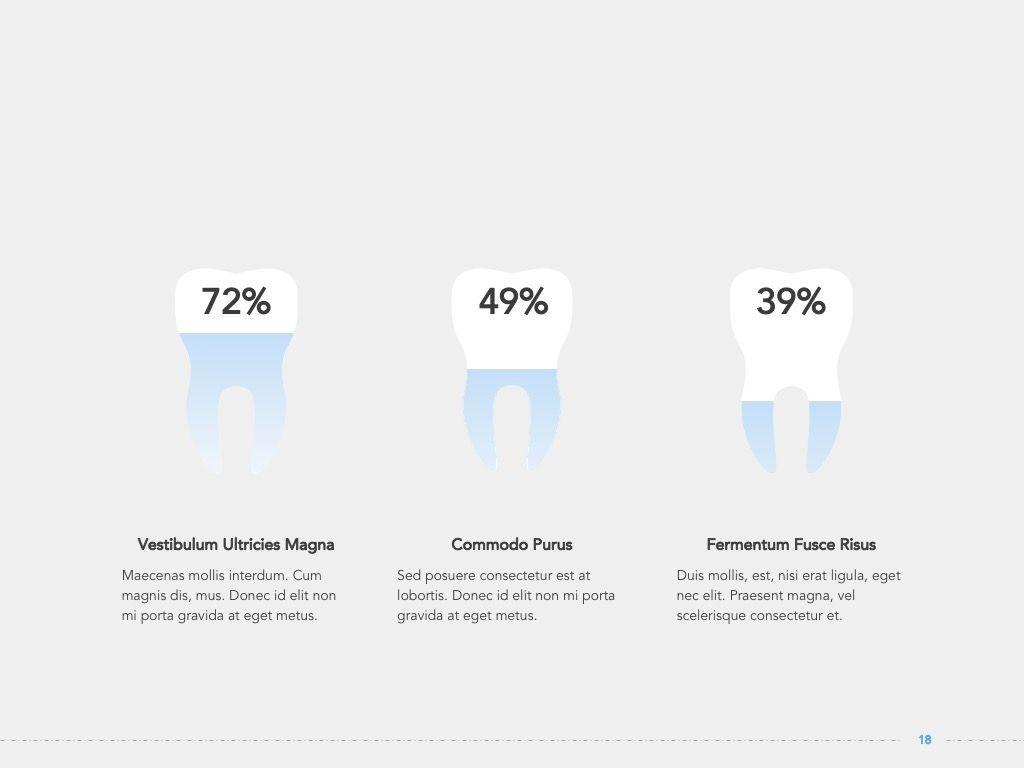Dentistry Google Slides Template, Slide 19, 05034, Presentation Templates — PoweredTemplate.com
