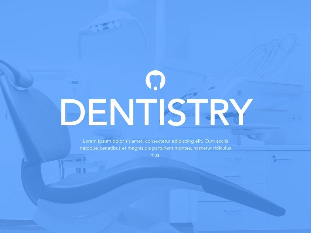 Dentistry Google Slides Template, Slide 2, 05034, Presentation Templates — PoweredTemplate.com