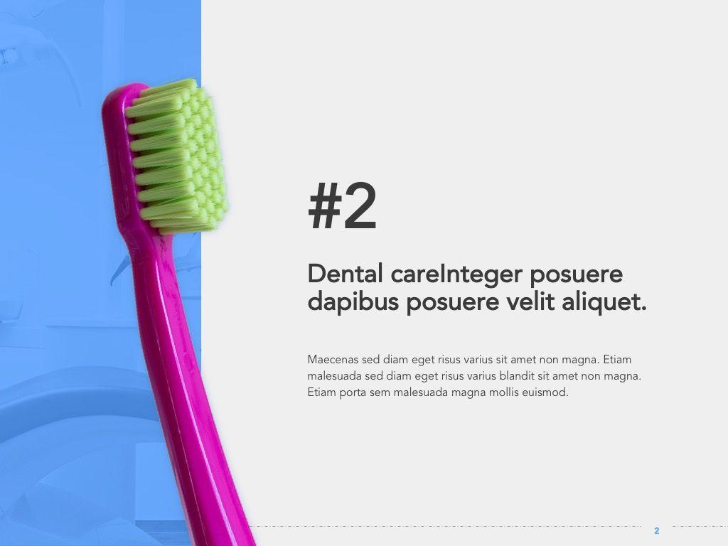 Dentistry Google Slides Template, Slide 3, 05034, Presentation Templates — PoweredTemplate.com