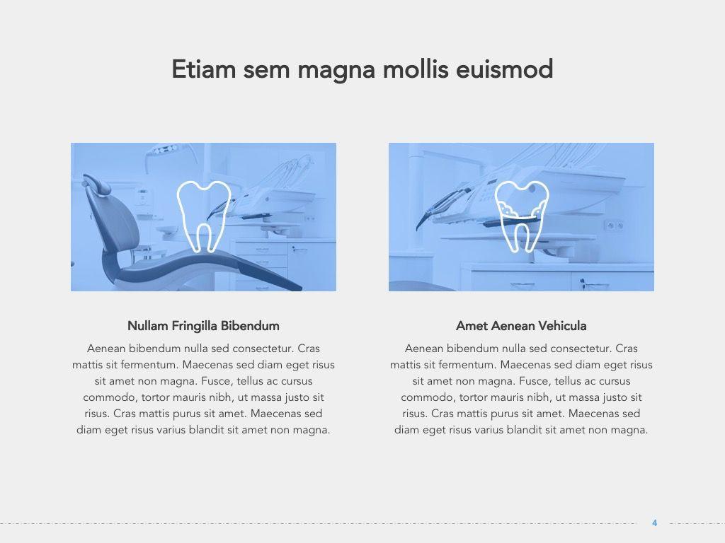 Dentistry Google Slides Template, Slide 5, 05034, Presentation Templates — PoweredTemplate.com