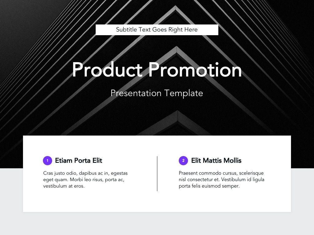 Product Promotion Google Slides Template, Slide 2, 05036, Presentation Templates — PoweredTemplate.com