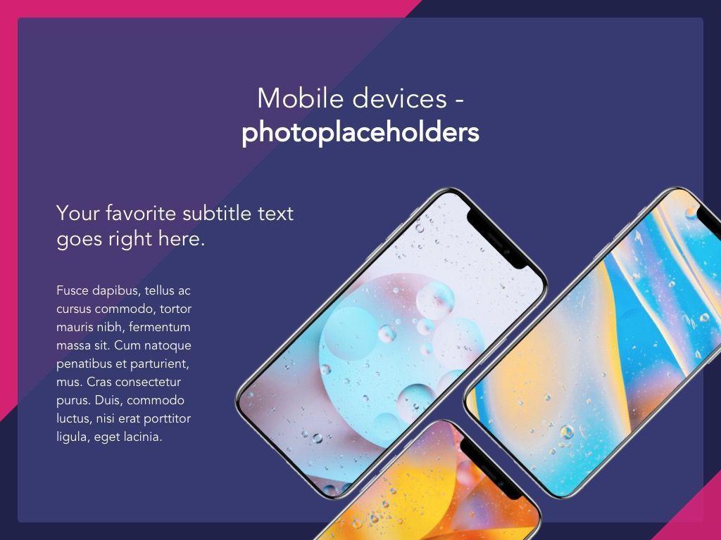 Mobile Industry Google Slides Template, Slide 19, 05037, Presentation Templates — PoweredTemplate.com