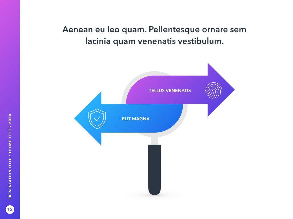 Cyber Security PowerPoint Template, Slide 13, 05040, Presentation Templates — PoweredTemplate.com