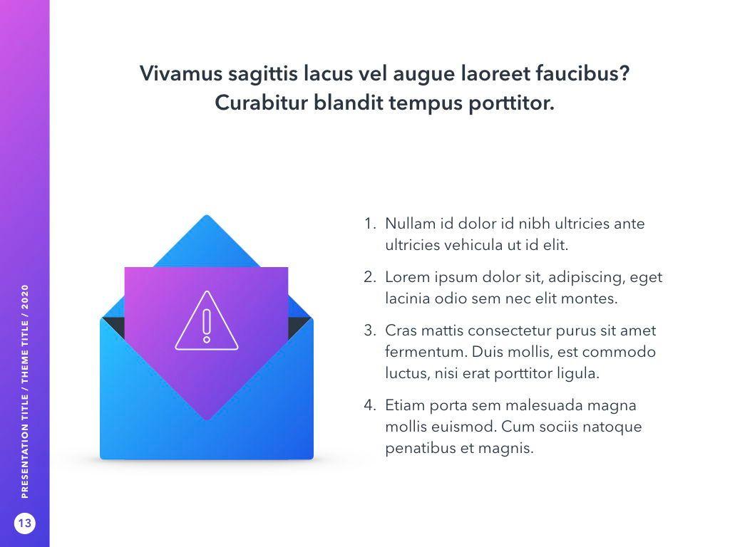 Cyber Security PowerPoint Template, Slide 14, 05040, Presentation Templates — PoweredTemplate.com