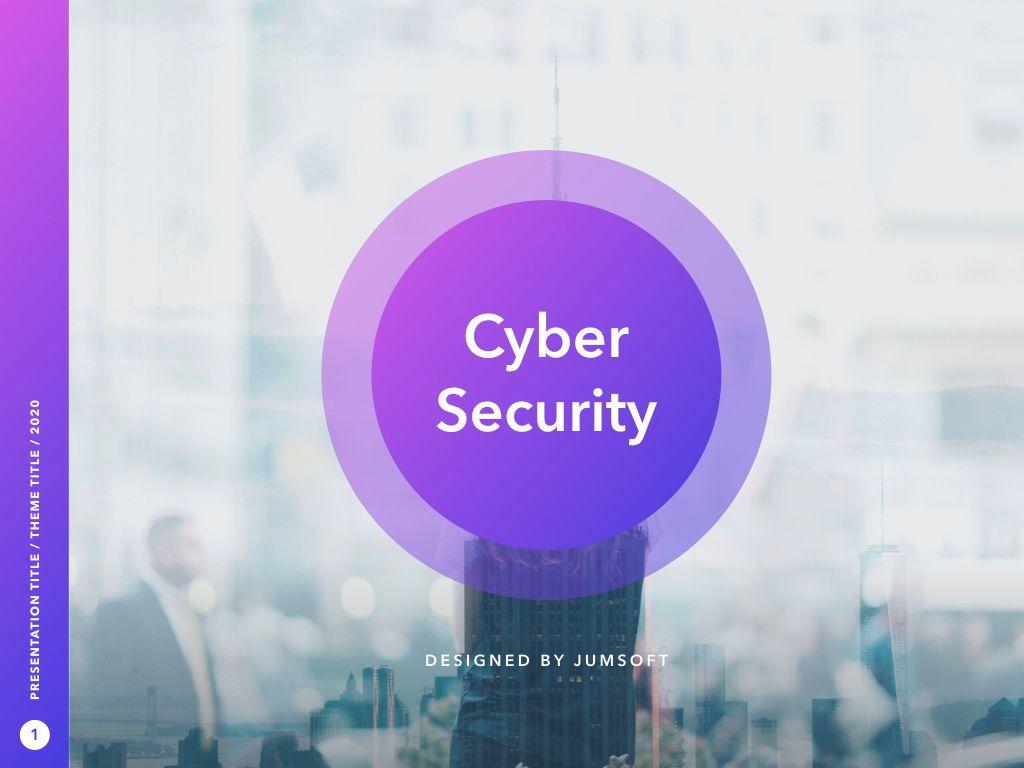 Cyber Security PowerPoint Template, Slide 2, 05040, Presentation Templates — PoweredTemplate.com