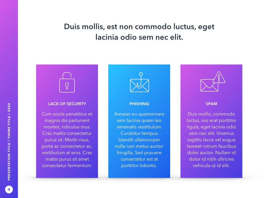 Cyber Security PowerPoint Template, Slide 5, 05040, Presentation Templates — PoweredTemplate.com