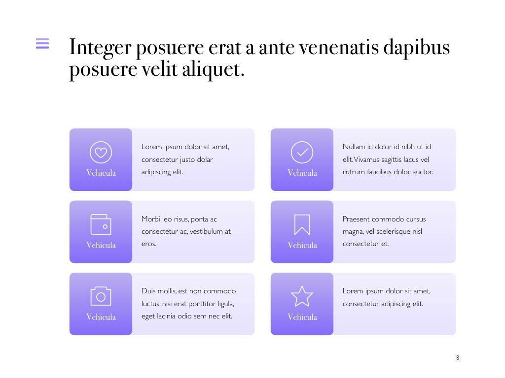 Wide Range PowerPoint Template, Slide 9, 05041, Presentation Templates — PoweredTemplate.com