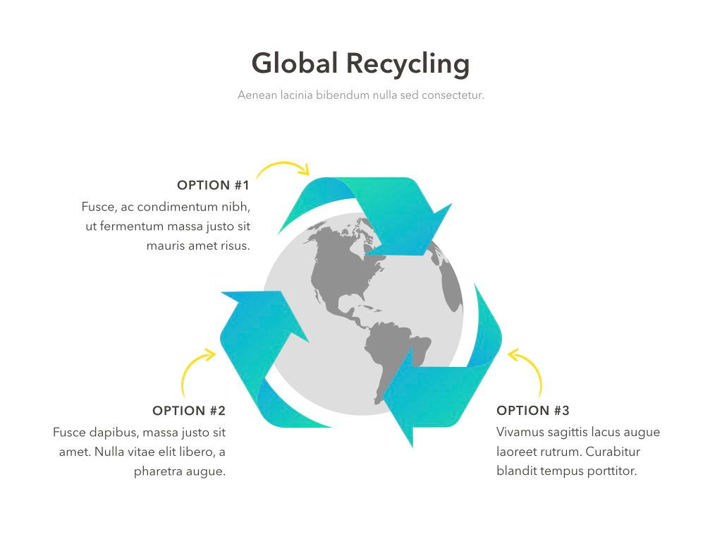 Valet Trash Service PowerPoint Template, Slide 13, 05042, Education Charts and Diagrams — PoweredTemplate.com