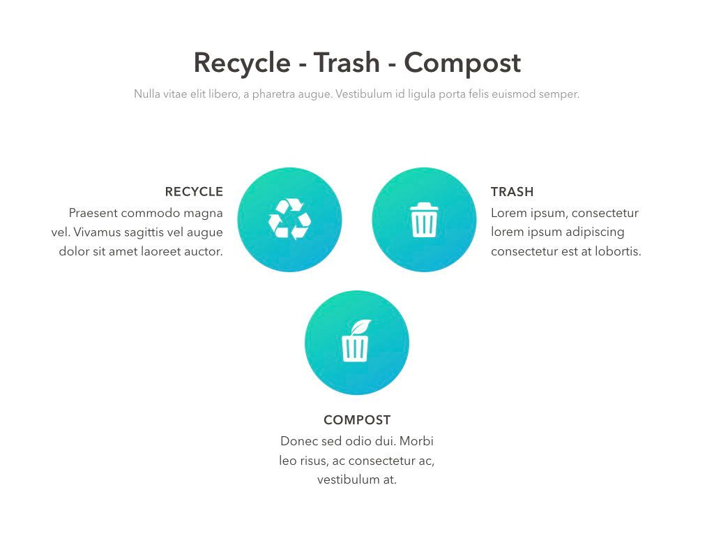 Valet Trash Service PowerPoint Template, Slide 15, 05042, Education Charts and Diagrams — PoweredTemplate.com