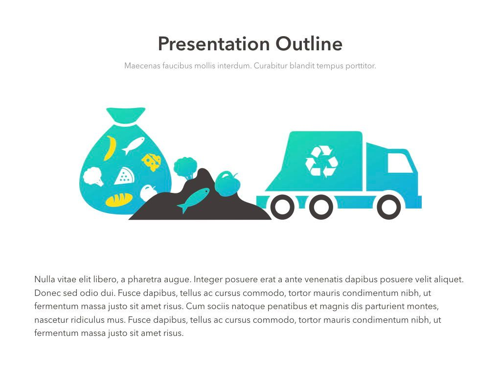 Valet Trash Service PowerPoint Template, Slide 4, 05042, Education Charts and Diagrams — PoweredTemplate.com