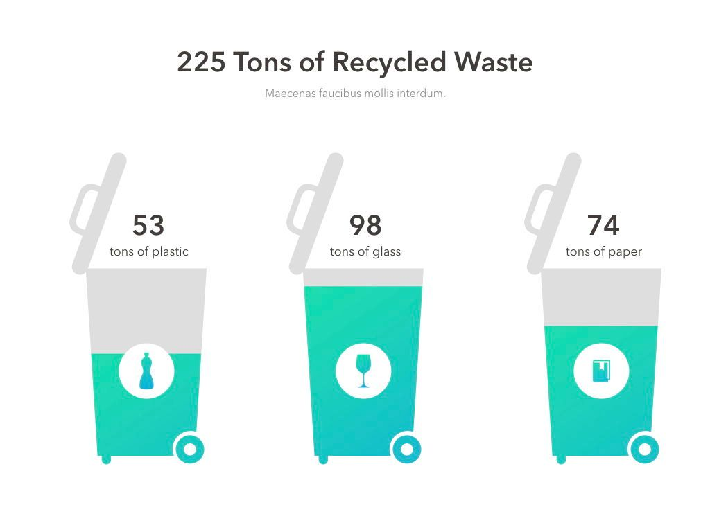 Valet Trash Service PowerPoint Template, Slide 5, 05042, Education Charts and Diagrams — PoweredTemplate.com