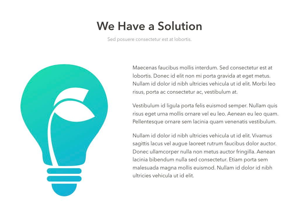 Valet Trash Service PowerPoint Template, Slide 6, 05042, Education Charts and Diagrams — PoweredTemplate.com