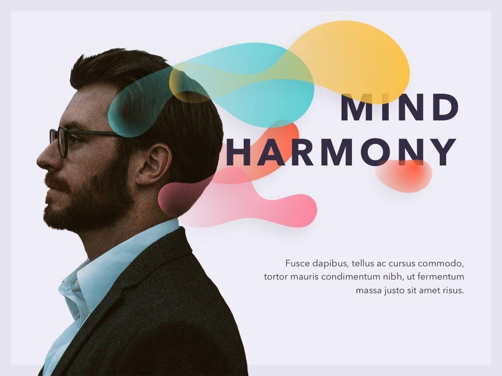 Mind Harmony PowerPoint Template, Slide 2, 05044, Presentation Templates — PoweredTemplate.com