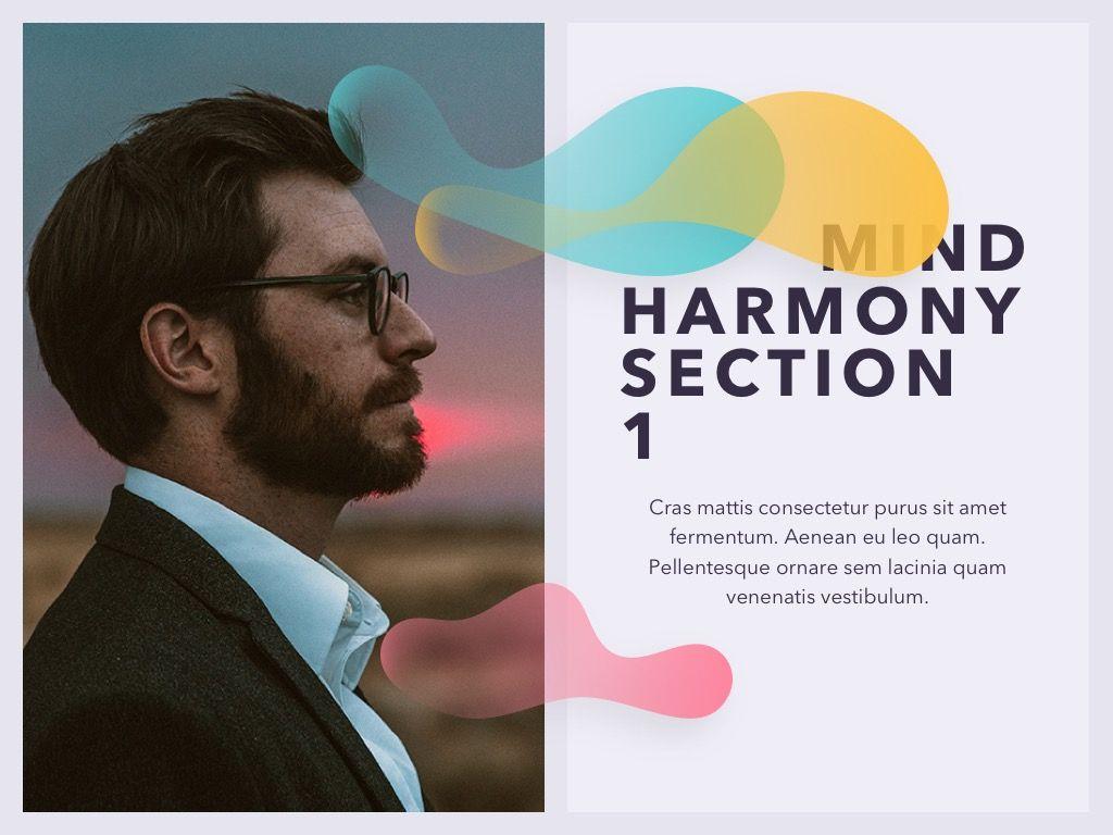 Mind Harmony PowerPoint Template, Slide 3, 05044, Presentation Templates — PoweredTemplate.com