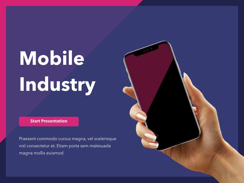 Mobile Industry PowerPoint Template, Slide 2, 05045, Presentation Templates — PoweredTemplate.com