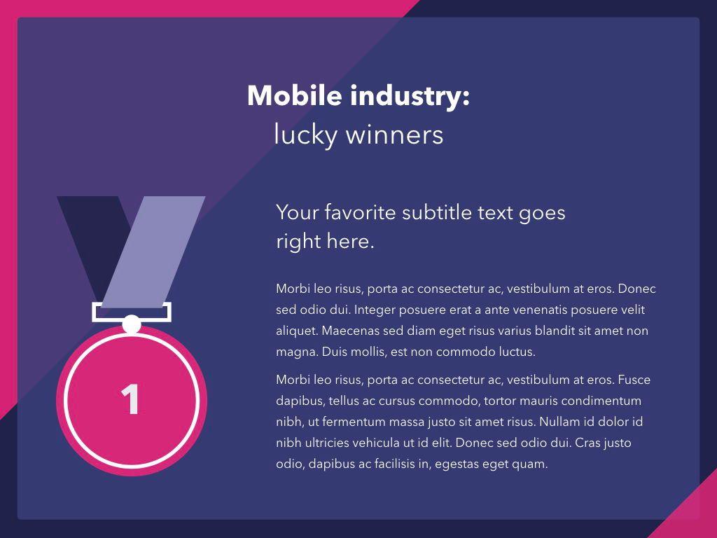 Mobile Industry PowerPoint Template, Slide 5, 05045, Presentation Templates — PoweredTemplate.com