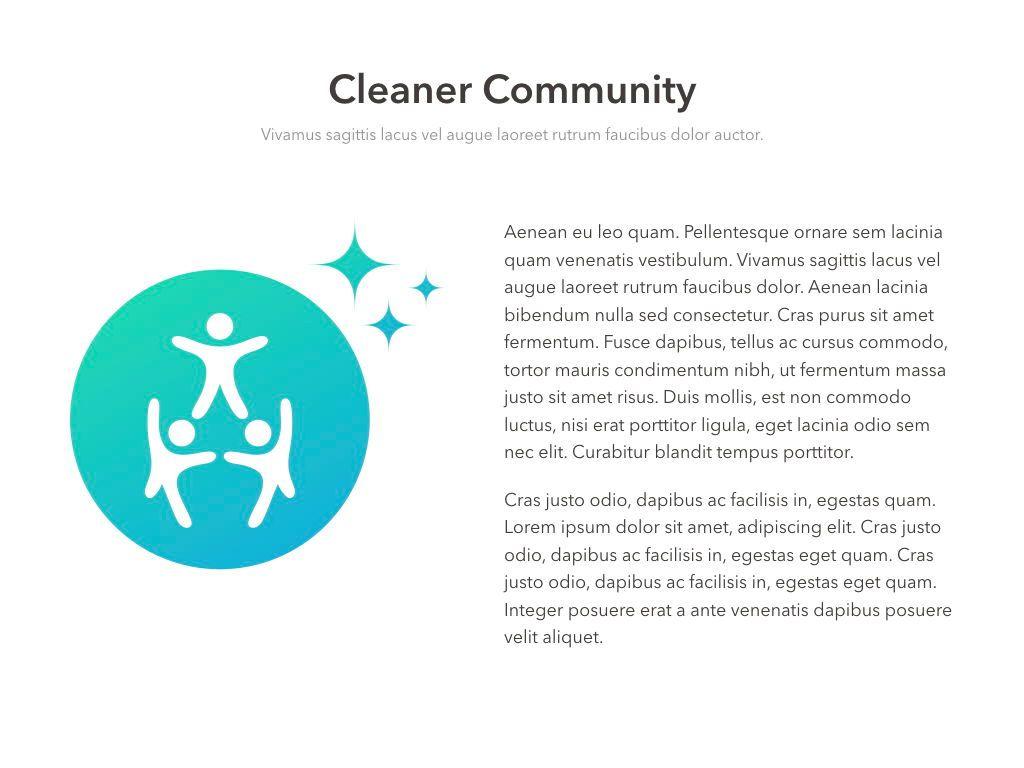 Valet Trash Service Keynote Template, Slide 11, 05046, Presentation Templates — PoweredTemplate.com