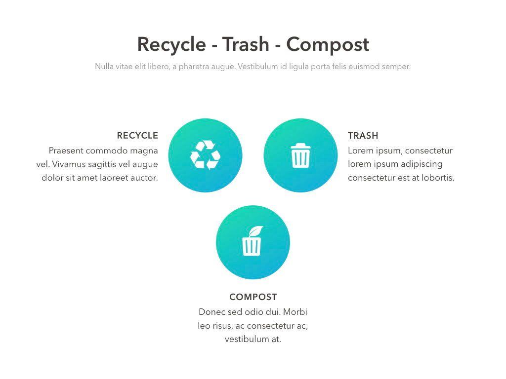 Valet Trash Service Keynote Template, Slide 15, 05046, Presentation Templates — PoweredTemplate.com