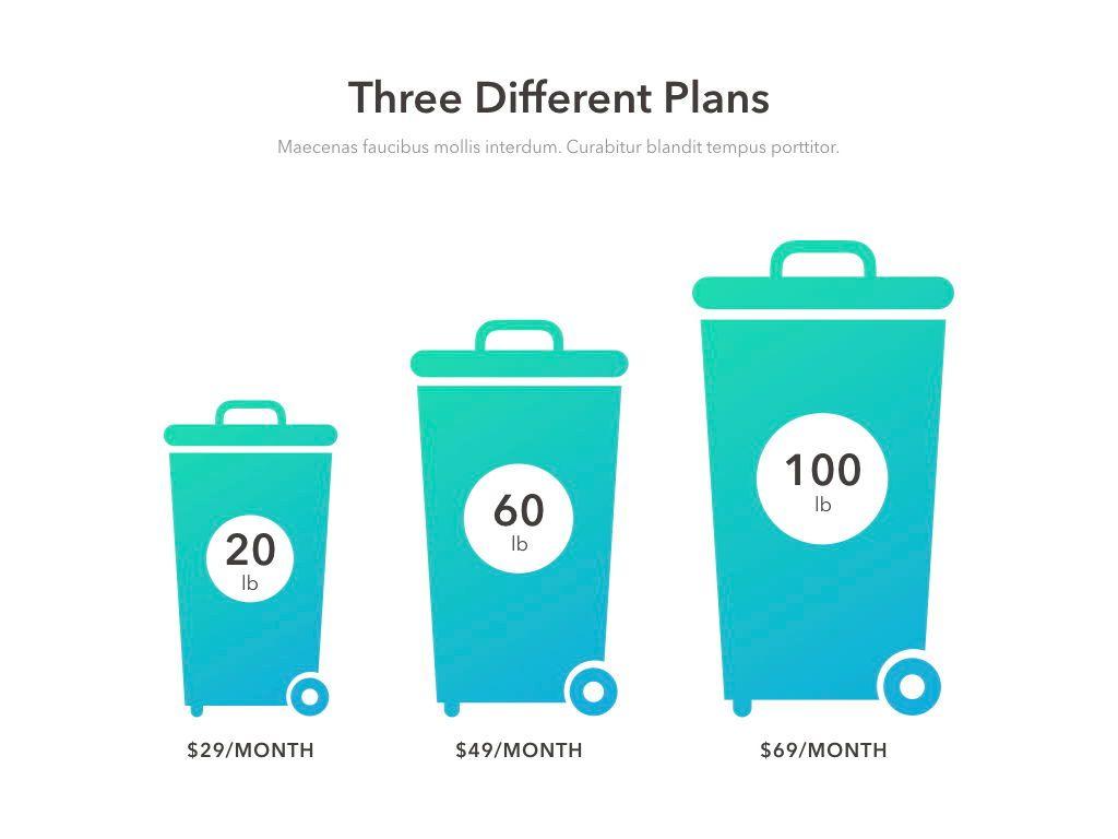 Valet Trash Service Keynote Template, Slide 8, 05046, Presentation Templates — PoweredTemplate.com