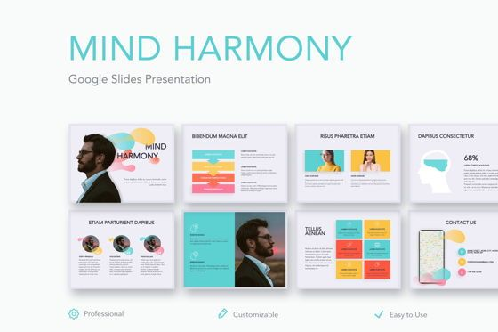 Presentation Templates: Mind Harmony Google Slides #05047